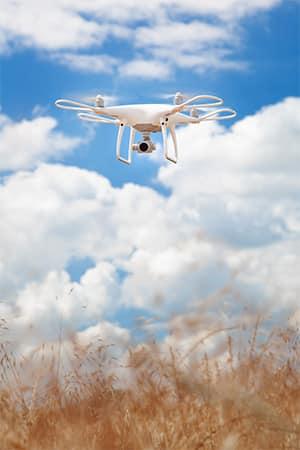 eine aktuelle Drohne (um die Perspektive komplett zu wechseln)
